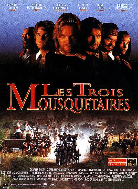 les trois mousquetaires film 1993