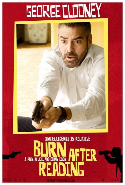 BURN AFTER READING (2008)   RueDuCine  Burn