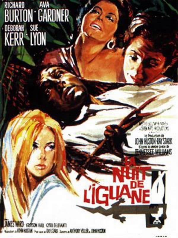 rueducine.com-la-nuit-de-l-iguane-1964