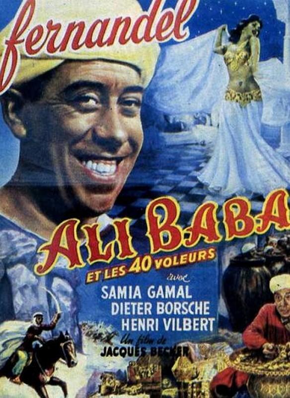 Abécédaire des Films - Page 6 Rueducine.com-ali-baba-et-les-40-voleurs-1954